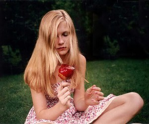 apple, film, and girl image