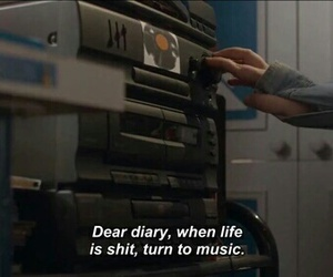 music, quotes, and life image