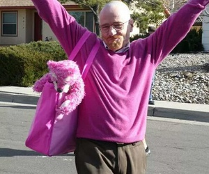 breaking bad, pink, and walter white image