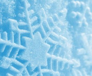 flake, snow, and winter image