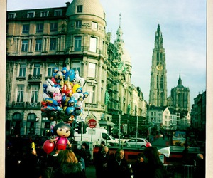 antwerp, balloons, and city image