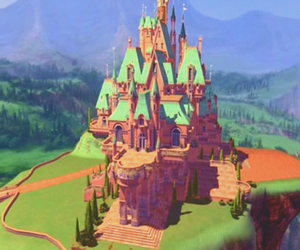 barbie, beautiful, and castle image