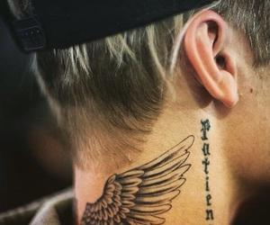 justin bieber, tattoo, and bieber image