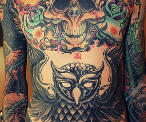 tattoo, mitch lucker, and suicide silence image