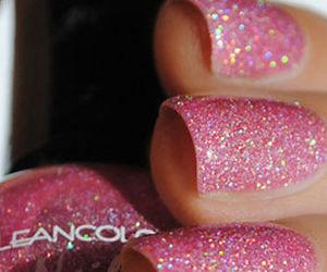 hands, nail polish, and nails image