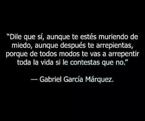 frases, quotes, and gabriel garcia marquez image