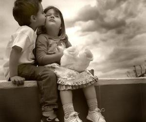 children, cute, and love image