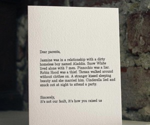 funny, Letter, and text image
