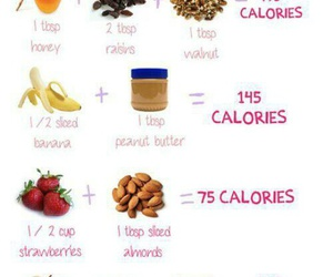 calories, food, and combination image
