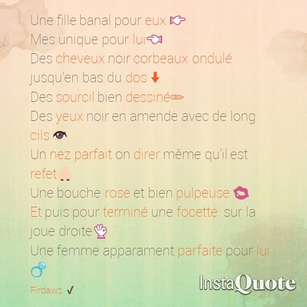 Image About Amour In Mes Photo Texte By Firdaws Az
