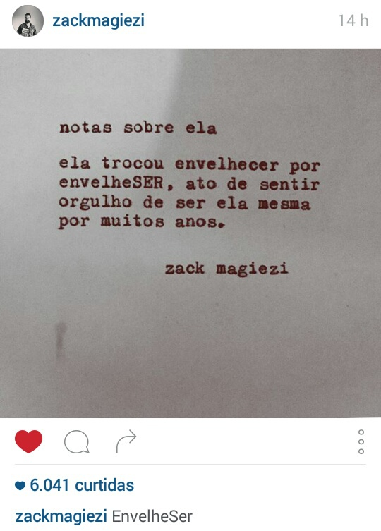 Notas Sobre Ela Zack Magiezi On We Heart It