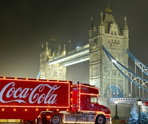 christmas, coca, and cola image