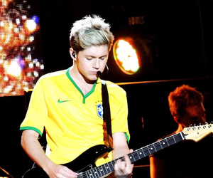 niall horan, one direction, and brazil image