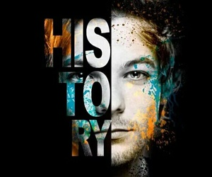 history, 1d, and louis tomlinson image