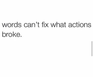 broke, fix, and quote image