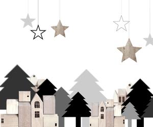 christmas, festive, and wallpaper image