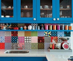 kitchen and blue image