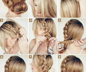 blondy, diy, and girly image