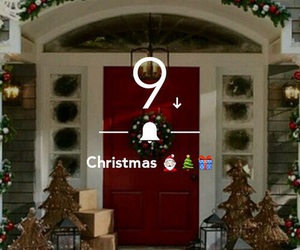 9, christmas, and countdown image