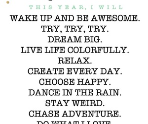 inspiration, quotes, and new years resolutions image