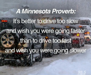 drive, winter, and safe image