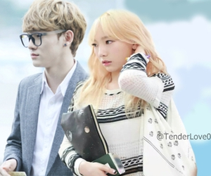 Chen, cute, and couple image