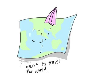 travel, overlay, and map image