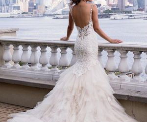 wedding, dress, and fashion image
