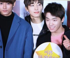 dino, jeon wonwoo, and jun image