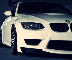 bmw, car, and white image