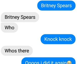 britney, funny, and jokes image