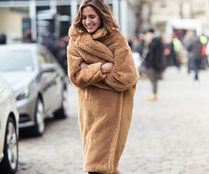coat, cosy, and fluffy image