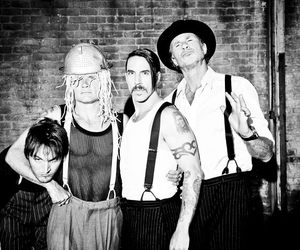 red hot chili peppers, band, and rhcp image