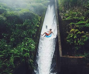 boy, paradise, and water image
