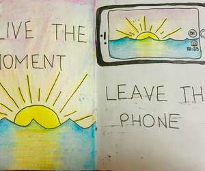 background, draw, and quotes image