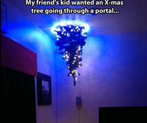 portal, funny, and christmas image