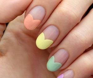 nails, pastel, and beautiful image