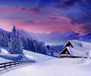 beautiful, december, and winter image