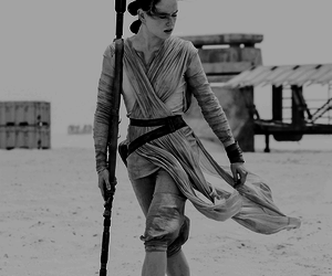 star wars, rey, and daisy ridley image