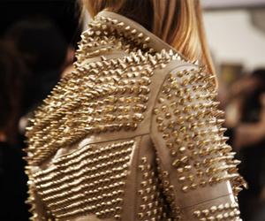 fashion, jacket, and studs image