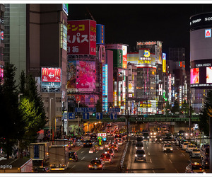 city, japan, and lifestyle image