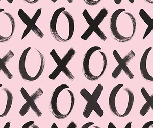 wallpaper, xoxo, and pink image