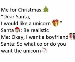 boyfriend, christmas, and santa image