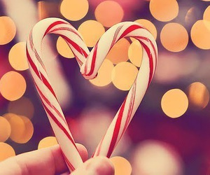 heart, crhistmas, and love image