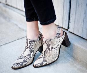 fashion blogger, free people, and snakeskin image