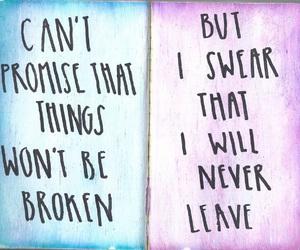 sleeping with sirens, broken, and promise image
