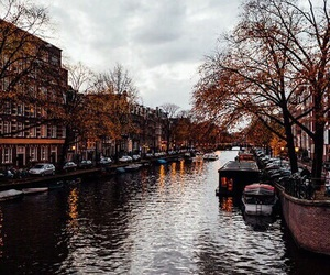amsterdam, autumn, and city image