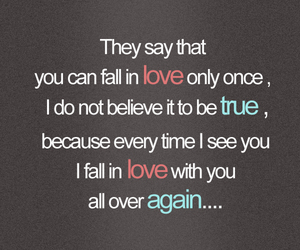 again, fall in love, and love image