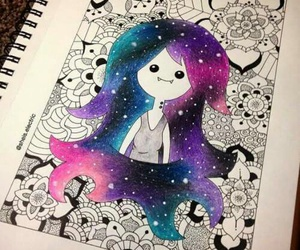 marceline, drawing, and adventure time image