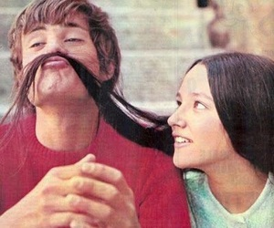 romeo and juliet, couple, and Olivia Hussey image